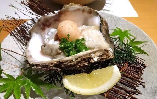 隠岐島の牡蠣