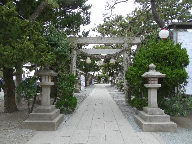 森戸海岸&森戸神社