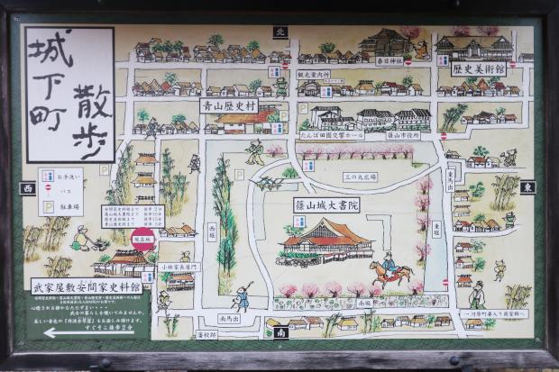 篠山城 城下町